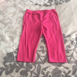 Other - Size 4 girl pink capris!